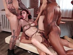 Violet Monroe needs nearby than one cock to sponsor her libidinous appetite