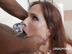 Coquettish Mature Gets Creampied Off out of one's mind Big Black Dick - syren de mer