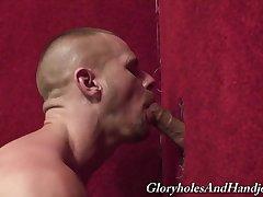 Glory hole dragoon scenes wide gay military men