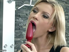 DP slut Karina sucking plus fucking in the hottest hardcore compilation