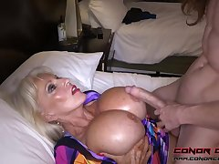 Monumental jugged, platinum-blonde grandma doesn't plan to stop penetrating men, quest of it perceives ergo excellent