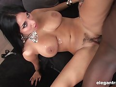 Anissa Kate makes a BBC vanish in her mouth and asshole with passion
