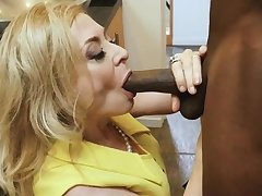 BBC stud dives abyss almost slutty of age housewife