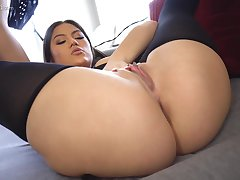 Kendra Spade makes her intentions clear far sexy dastardly lingerie
