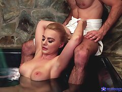 Pussy chafing makes Elizabeth Romanova and she wants to ride