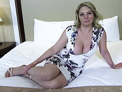 Big ass together with titties blonde MILF