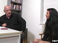 Inhaling the interviewee